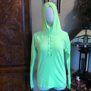 Lime Green Fila Running Shirt